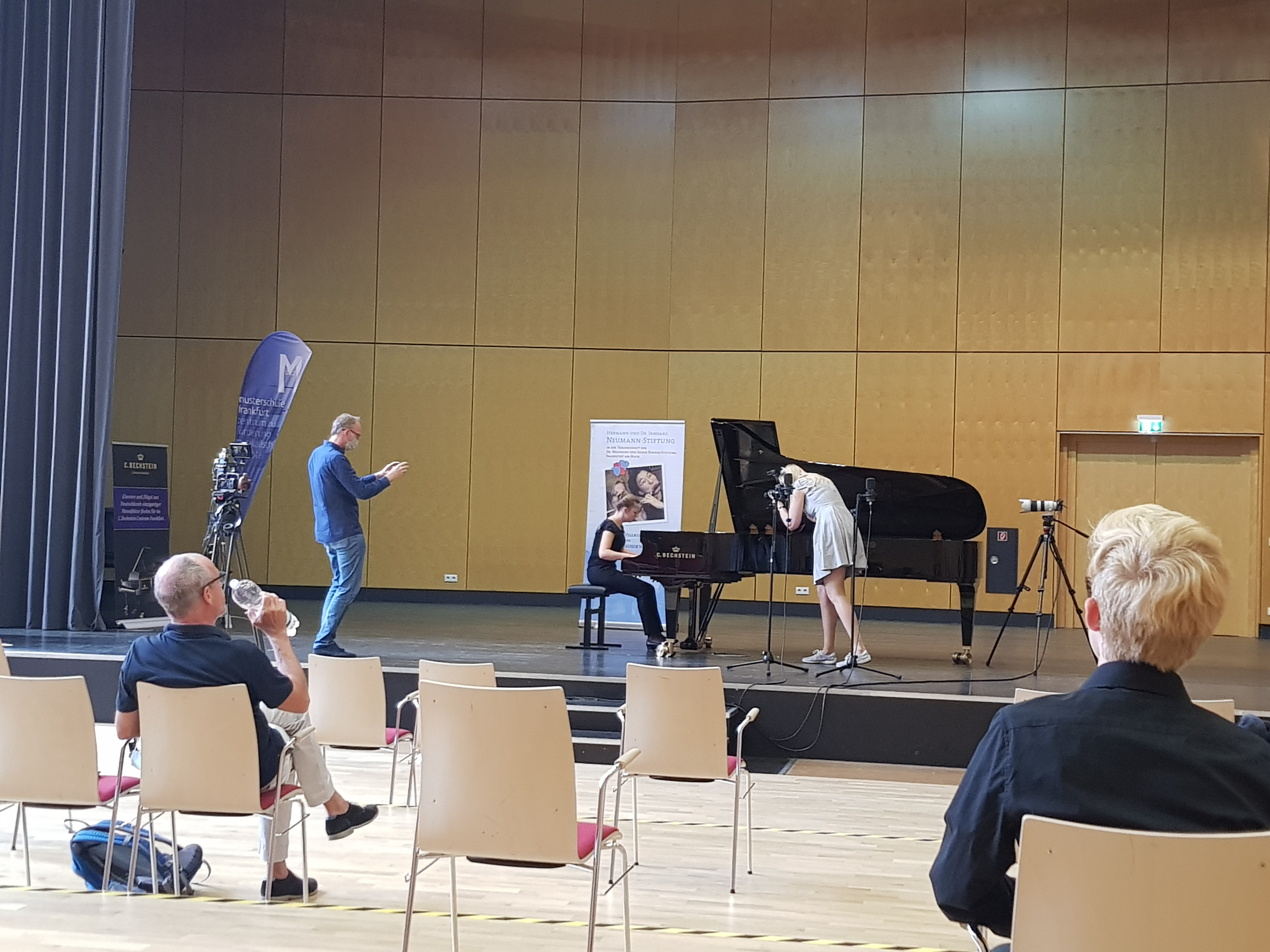 Das Preisträgerkonzert des fünften Schülerwettbewerbs der Hermann und Dr. Irmgard Neumann-Stiftung